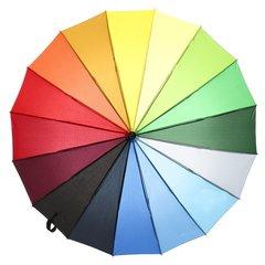 Зонт радуга трость Dolphin 476