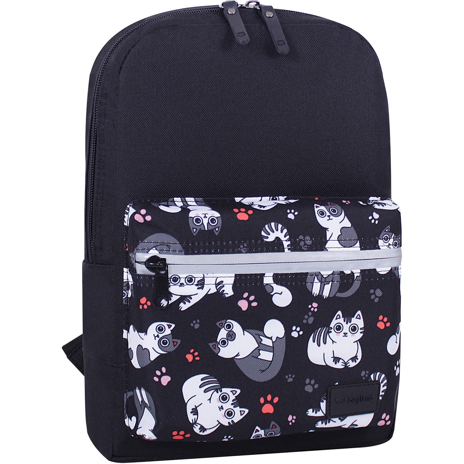 Молодежные рюкзаки Рюкзак Bagland Молодежный mini 8 л. черный 776 (0050866) IMG_6792_суб.776_.JPG