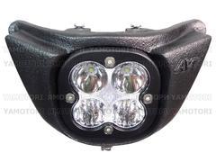 Фара LED AVT extreme Yamaha WR250F/450F 07-11 (пластик / рамка черная)