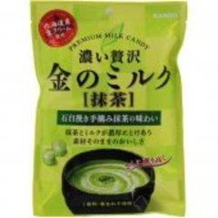 Молочная карамель Kanro со вкусом зеленого чая 70 гр