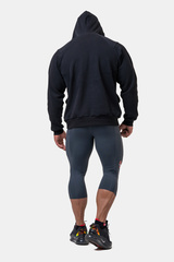 Мужские укороченные леггинсы Nebbia Legend of Today leggings calf length 188 dark grey