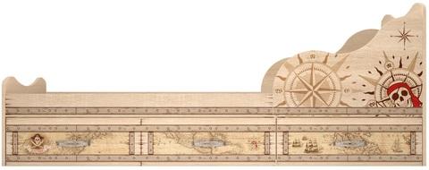 Кровать односпальная Квест 5 (комплектация 1) с ящиками Ижмебель 90х190 дуб сонома светлый
