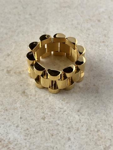Кольцо Утопия, позолота