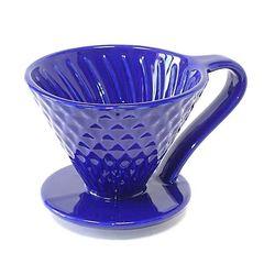 Воронка-пуровер Mojae 02 синяя   Easy-cup.ru