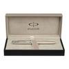 Parker Sonnet - Cisele Silver CT, ручка-роллер, F, BL