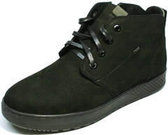 Классические ботинки на шнурках мужские зимние Ikoc 1617-1 WBN.