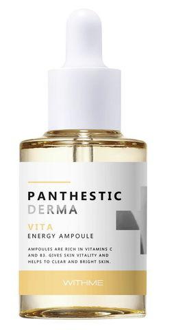 Сыворотка для лица АНТИВОЗРАСТНАЯ Panthestic Derma Vita Energy Ampoule, 30 мл WITHME