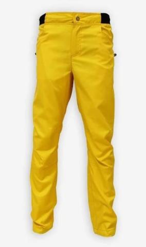 Брюки для скалолазания Hi-Gears Mega Bould Summer Series dark yellow (желтые)