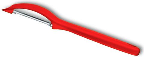 Кухонный нож Victorinox 7.6075.1, для чистки овощей, красный