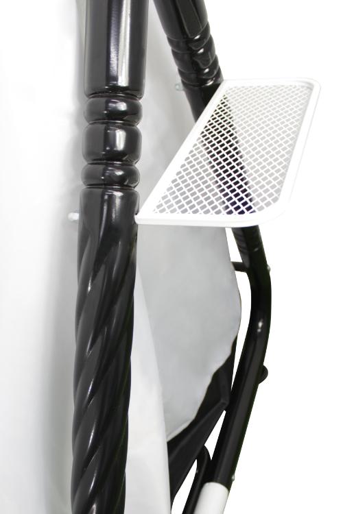 Кокетка черная подстаканник