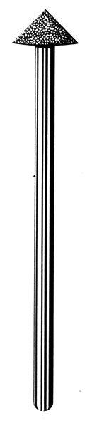 Лабораторные алмазные инструменты «SS WHITE» серия LAB 80/4080 Группа III. Средняя крошка.