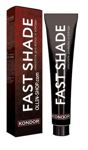 KONDOR «FAST SHADE» Краситель для волос и бороды, тон 2 - чёрный 60мл