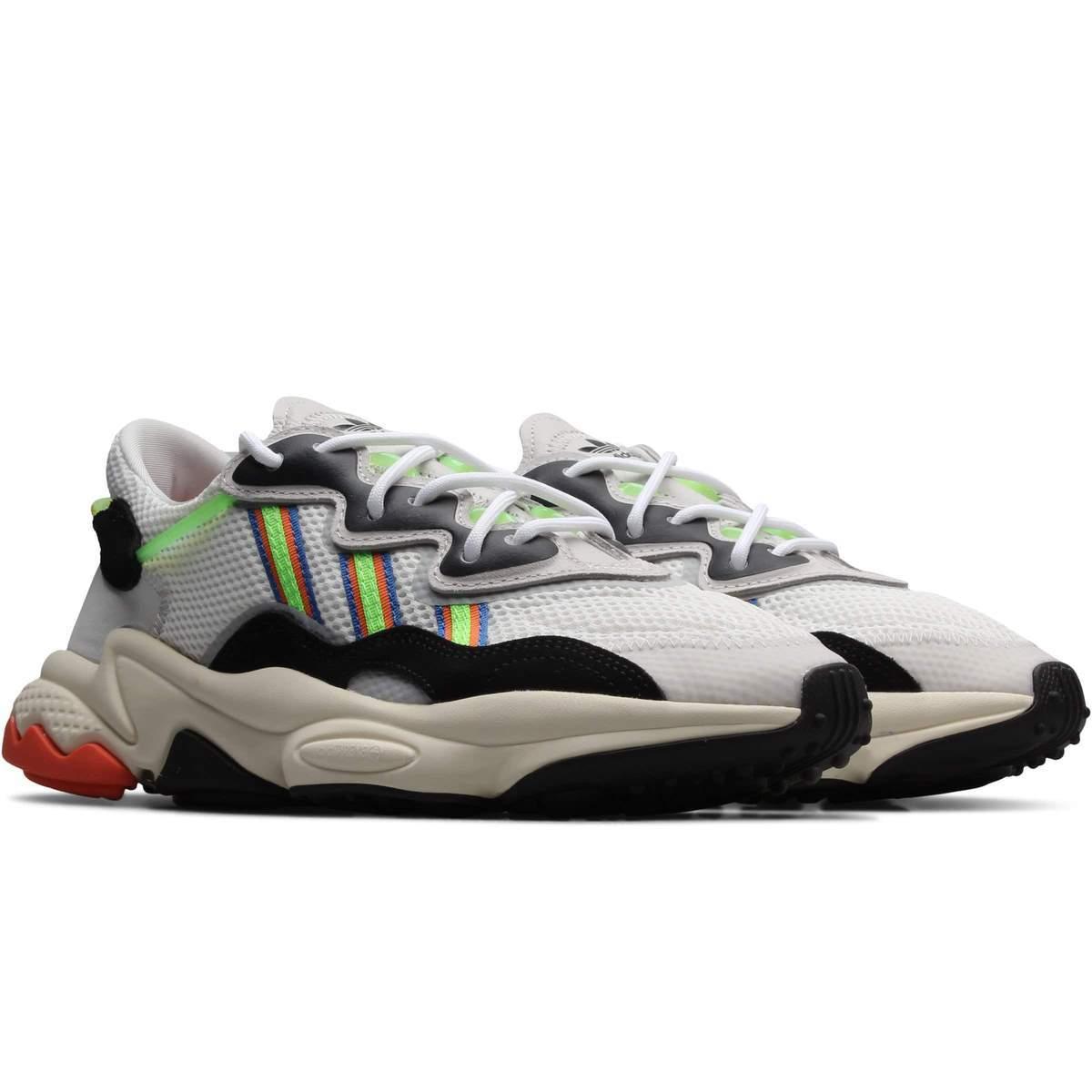 Adidas Originals Ozweego White/Solar Green