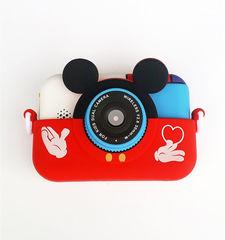 детская цифровая камера микки с функцией селфи