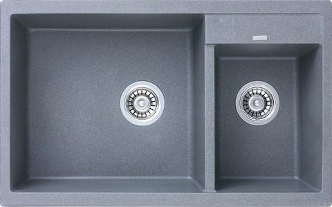 Кухонная гранитная мойка Kaiser KG2M-8050 (6 цветов)