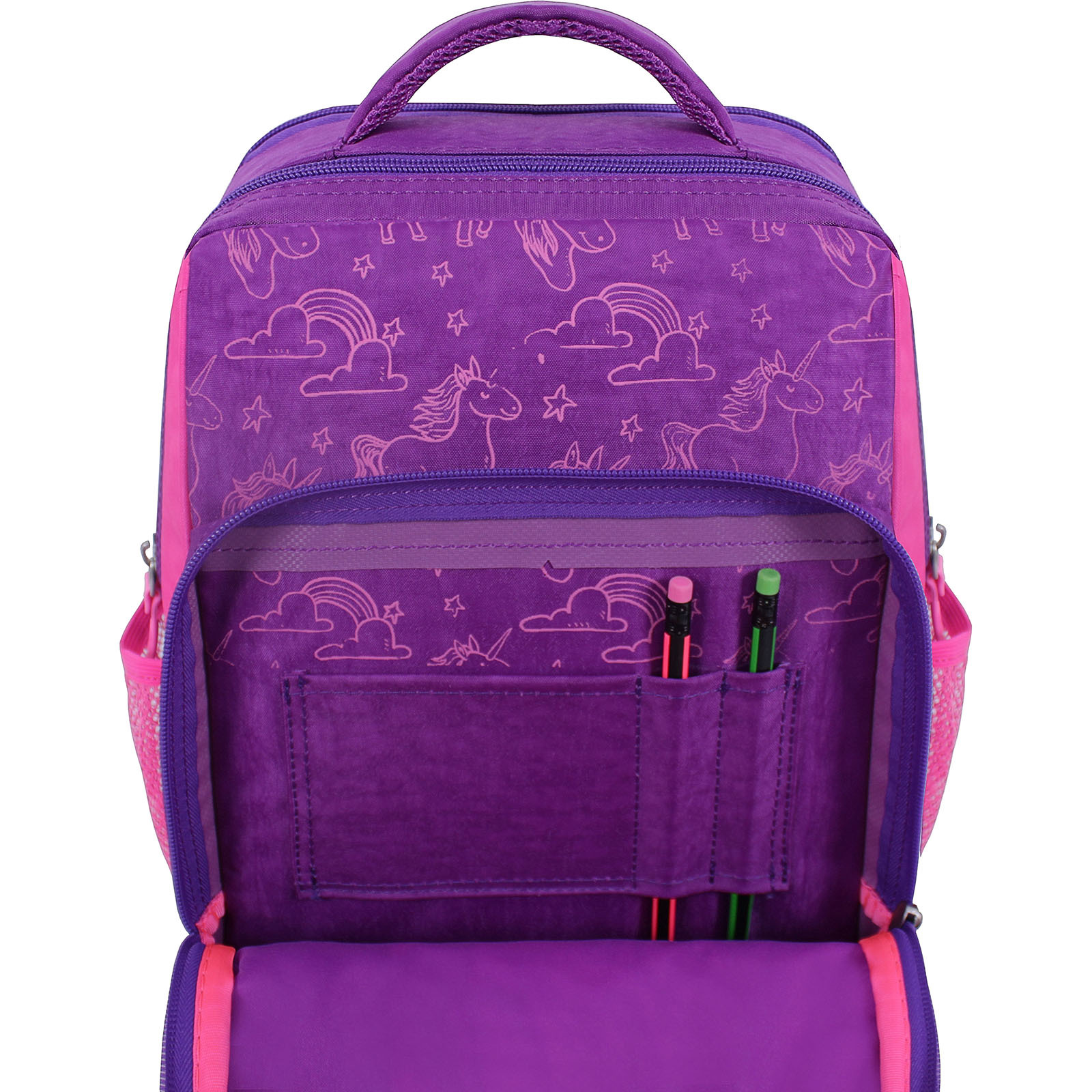 Рюкзак школьный Bagland Школьник 8 л. Фиолетовый 596 (00112702) фото 4