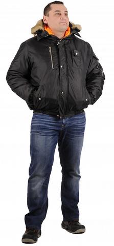 Куртка Аляска укороч.(тк.Оксфорд) , т.черный
