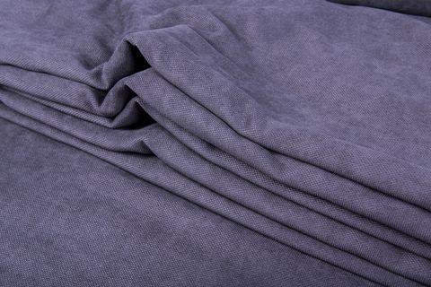 Штора готовая однотонная из портьерной ткани | цвет: пурпурно-синий | размер на выбор
