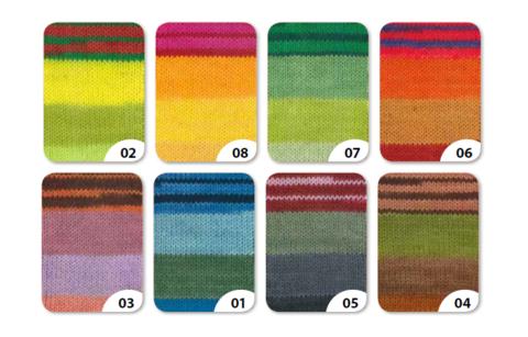 Gruendl Hot Socks Arco 6-fach 08