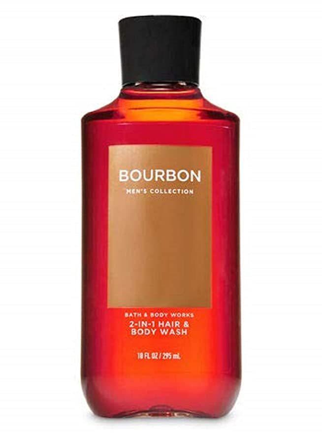 Гель для душа Bath&BodyWorks Men's Collection Bourbon 2in1 Hair&Body Wash  295 мл