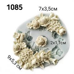 1085 Молд силиконовый. Цветы.