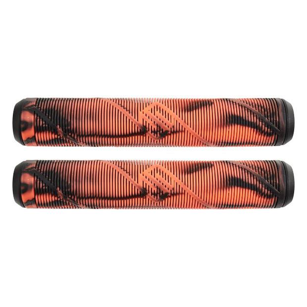 Грипсы STRIKER Logo (Black/Orange)