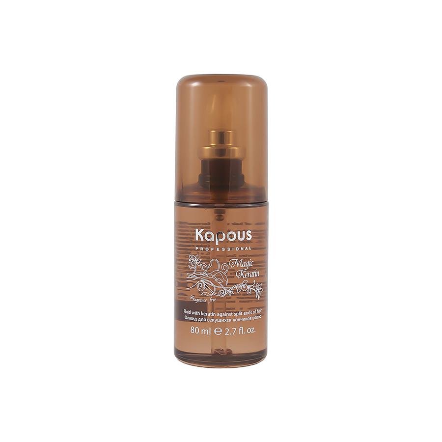 Флюид для секущихся кончиков  волос с Kератином Magic Keratin Kapous Professional 80 мл