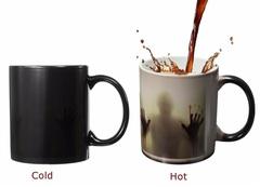 Ходячие мертвецы кружка хамелеон Кровавый след — Walking Dead Mug color changing