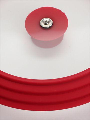 Крышка универсальная на 3 размера (26х28х30 Красная)