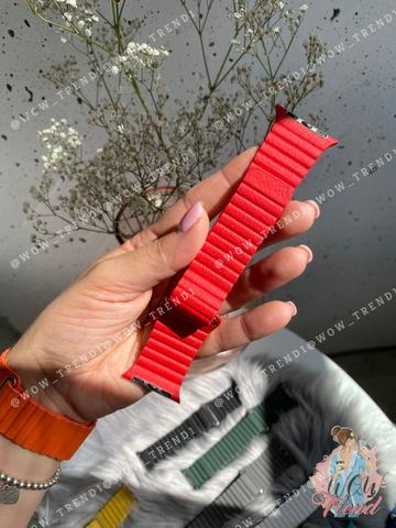 Ремешок Apple watch 38mm Leather Loop /red/