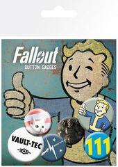 Набор значков «Fallout 4 Mix 1»