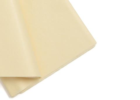 Бумага тишью 50*66 см (10 листов) цв. Ванильный  Китай