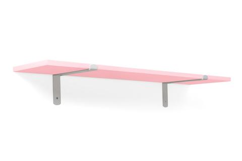 Полка Loft 90 Розовый