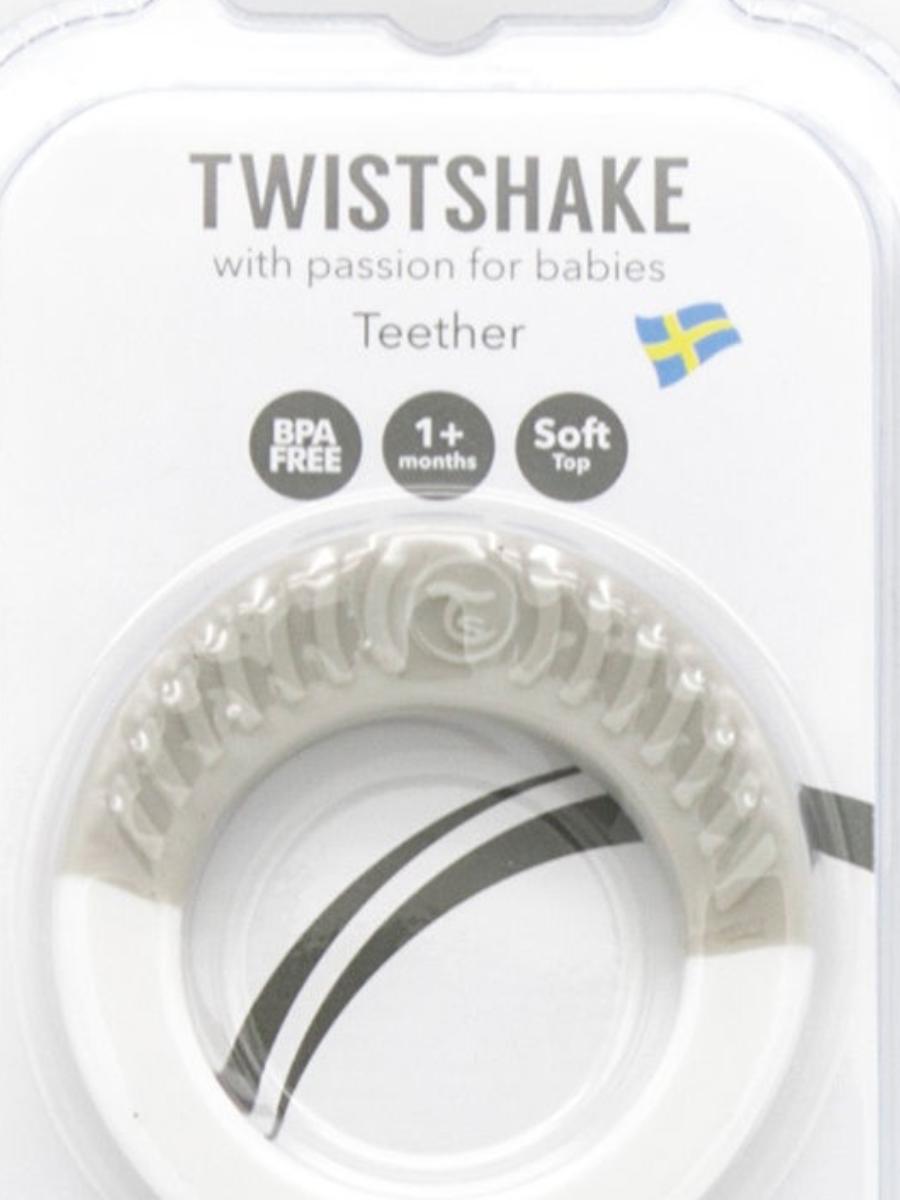 Прорезыватель Twistshake (Teether). Возраст 1+m.