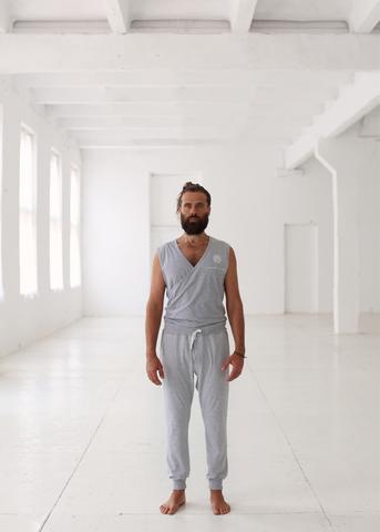 <p>Мужской комбинезон для йоги и фитнеса</p> TERRITORY OF YOGA