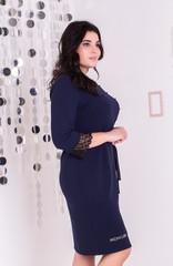 Франческа. Гарне плаття великих розмірів. Синій