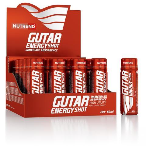 Nutrend Гутар энерджи шот № 20 / Gutar energy shot 60 ml № 20