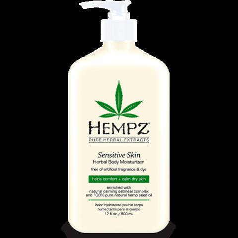 Молочко  для тела увлажняющее Чувствительная Кожа / Hempz Sensitive Skin Herbal Moisturizer
