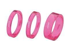 Проставочное кольцо BBB BHP-37 TransSpace 2x5мм 1х10мм pink