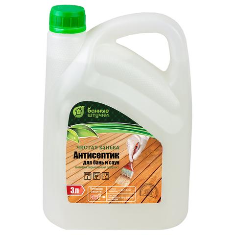 Антисептик «Чистая банька» 3 л