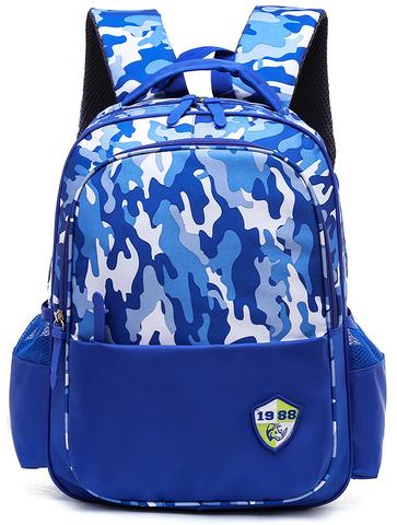 Рюкзак школьный Ziranu 1655 Синий + Пенал