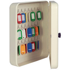 Шкаф для ключей Onix КМ-48 серый (на 48 ключей, металл)
