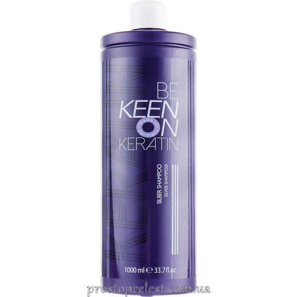 Keen Keratin Silver Shampoo - Сріблястий шампунь 1000мл