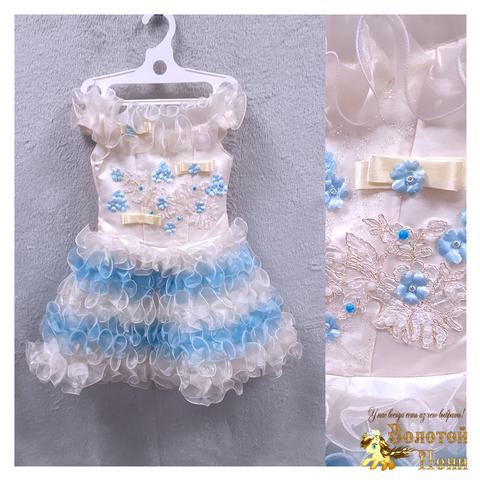 Платье на корсете девочке (3-4) 201204-ТР7756