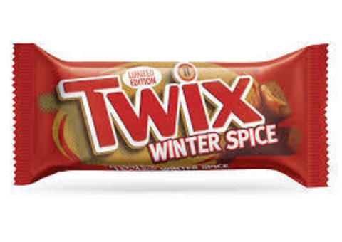 Батончик Twix Winter Spice корица и мускатный орех 46 гр