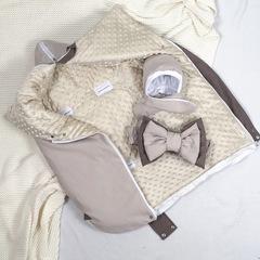 СуперМамкет. Конверт-одеяло всесезонное Мультикокон ®, Soft, бежевый вид 4