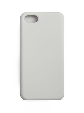 Чехол  для iPhone 7/8/SE Софт тач мягкий эффект | микрофибра белый