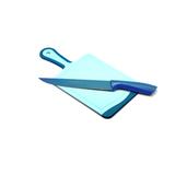 Набор кухонная доска и нож, артикул LB-20/F-P-B, производитель - Atlantis