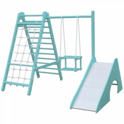 Детский комплекс для малышей mini-3 (Бирюзовый)
