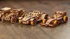 Родстер от Wooden City - деревянный конструкторы, 3D пазл, сборная модель
